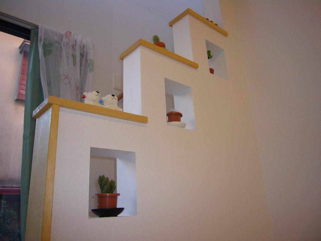 ☆自然素材を楽しむ家